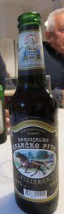 Cerveza muy buena de la zona